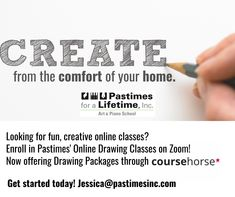Drawing Classes, Painting Classes, Kneaded Eraser, Sketch Paper, Online Drawing, Get Started, Booklet, Packaging, Create