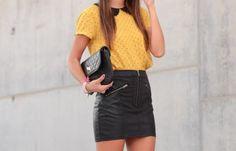 yellow polka dot shirt girl