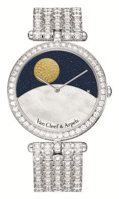 Van Cleef & Arpels Day and Night watch. | The Jewellery Editor