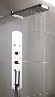 Hudson Reed, Shower Panels, Rain Shower, Shower Heads, Bathtub, Showers, Waterfall, Google Search, Standing Bath