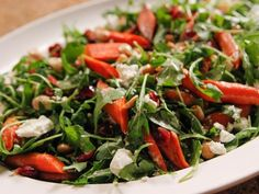 Ina Garten Best Salad Recipes is One Of the Liked Salad Of Several People Across the World. Besides Simple to Create and Excellent Taste, This Ina Garten Best Salad Recipes Also Healthy Indeed. Roasted Carrot Salad, Carrot Salad Recipes, Best Salad Recipes, Roasted Carrots, Healthy Soup Recipes, Eat Healthy, Roasted Beets, Roasted Cauliflower, Barefoot Contessa