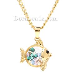 #fish #floating #necklace so lovely! Right?