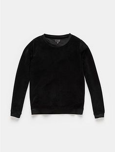 Fluwelen sweater zwart - The Sting