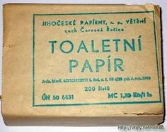 Skladaný toaletný papier - the toilet paper during the socialist era was essentially wax paper. there wasn't any of this pillow top fanciness Wax Paper, Retro, Childhood, Memories, 2 Ply, Toilet Paper, Times, Photograph Album, Nostalgia