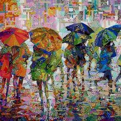 Danny Amazonas「Rainy day in Metropolis」