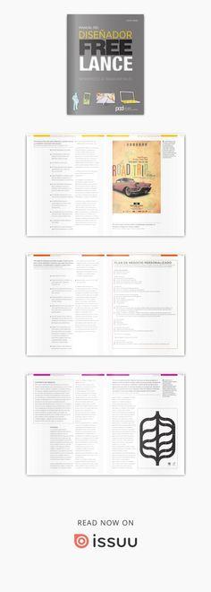Diseño grafico - Manual del diseñador freelance El MANUAL DEL DISEÑADOR FREELANCE es un libro ilustrado y práctico de referencia para todos los diseñadores gráficos freelance que deseen desarrollar una carrera de éxito a largo plazo. Este libro está repleto de consejos prácticos, estrategias, casos de estudio y referencias de la industria para enseñar a los diseñadores freelance aspectos prácticos de la carrera. Cubre todos los géneros interesantes para un diseñador, tales como branding…