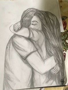 Super drawing people hugging beautiful 69 Ideas