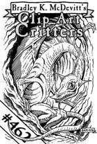Clipart Critters 462  Midget Dragon
