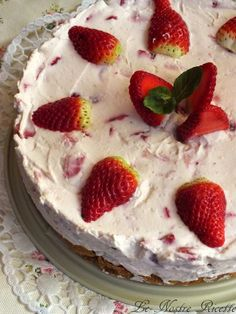 Le nostre Ricette: Cheesecake alle Fragole