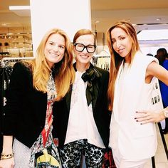 Celebrating the launch of The Collective at Bloomingdale's with Brooke Jaffe and Torn by Ronny Kobo #bloomiescollective