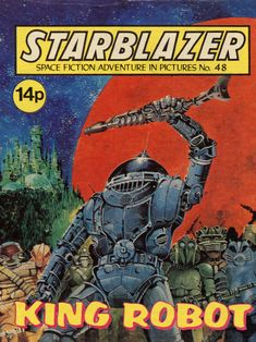 Starblazer, Space Fiction Adventures in Pictures 048