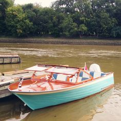 Oh So Lovely Vintage: Incredibly adorable restored 1957 boat