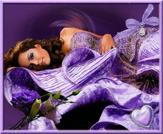 purple glitter graphics | Glamorous Purple Glitter Gown Pictures, Photos, and Images for ...