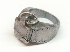Strong-box Ring (2008. IT) Ring 118.3 by Blind Spot Jewellery, via Flickr