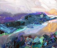 Richard Claremont #Art and #Inspiration - South Coast Walk - #Seascapes #Oil #Paintings for Sale