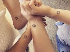 Wonderful Sister Tattoos: Honor Your Dear Sister (with Meanings) 38 Small Symbol Tattoos, Small Quote Tattoos, Small Tattoos With Meaning, Small Tattoos For Guys, Cute Sister Tattoos, Matching Sister Tattoos, Best Friend Tattoos, Three Sister Tattoos, Small Shoulder Tattoos