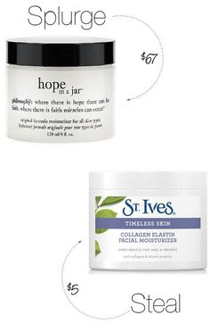 Beauty Secrets Your wrinkles and your wallet will love this drugstore dupe for Philosophy Hope in a Jar moisturizer. - Your wrinkles and your wallet will love this drugstore dupe for Philosophy Hope in a Jar moisturizer. Beauty Dupes, Makeup Dupes, Beauty Hacks, Beauty Care, Beauty Products, Skincare Dupes, Skin Products, Beauty Secrets, Makeup Moisturizer