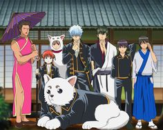 Yorozuya/ Shinsengumi/ Gintama