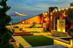 طراحی و اجرای روف گاردن-roof-garden