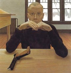 Alex Colville, painter of the ordinary Canadian Painters, Canadian Artists, Art Gallery Of Ontario, Alex Colville, Tate Gallery, Magic Realism, Digital Museum, Contemporary Paintings, Art