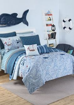 Best Pirate Bedding Sets and Pirate Comforter Sets! We have pirate themed bedding, comforters, quilts, and duvet covers for your nautical bedding. Nautical Bedding Sets, Aqua Bedding, Dorm Bedding, Nautical Bedroom, Full Size Comforter Sets, Twin Comforter, Boys Comforter Sets, Pirate Bedding, Pirate Bedroom Decor