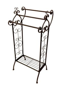 Towel racks from  $35 French Provincial Furniture, Towel Racks, Wrought Iron, Comforters, Storage, Home Decor, Creature Comforts, Purse Storage, Quilts