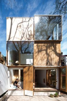awesome three by two house | panovscott architects. Architecture. Design. Cubes....