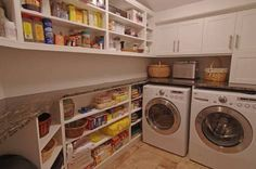Image result for laundry, butlers and walk in pantry combined