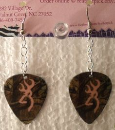 Mossy Oak Camo with light pink browning deer symbol by featherpick,
