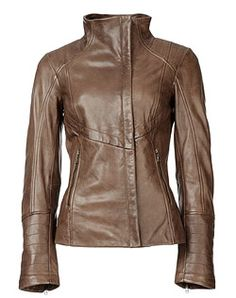 Danier, leather fashion and design.  Love the style and colour.