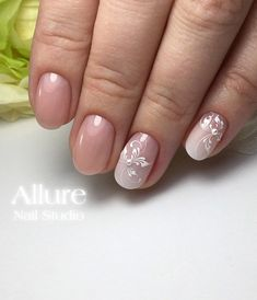Are you ready to book your next manicure, if not then this is the perfect […] Oval Nails, Pink Nails, My Nails, Bridal Nail Art, Nagellack Trends, Bride Nails, Gelish Nails, Chic Nails, Square Nails
