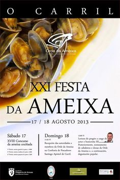 #Fiesta de la almeja, Carril, #Galicia