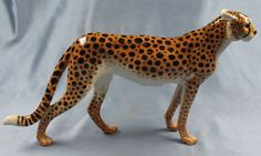 Gepard Hutschenreuther figur porzellanfigur panther porzellan tiger 1970 in Antiquitäten & Kunst, Porzellan & Keramik, Porzellan | eBay!