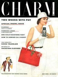 Charm, May 1956.