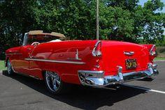 '55 Chevy convertible