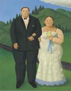 Fernando Botero (Colombian b. 1932)   Country Wedding   signed and dated 'Botero 09' (lower right)   oil on canvas   71¼ x 56 in. (181 x 142.2 cm.)   Painted in 2009.