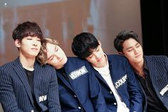 Wonwoo, Vernon, Coups & Mingyu