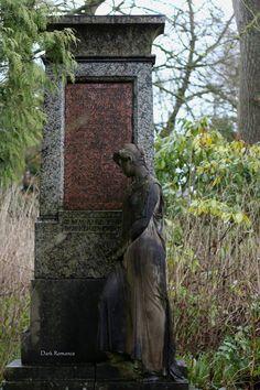Main cemetery in Iserlohn, West Germany