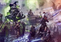 Necrons vs. Eldar