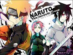 Tags: Fanart, NARUTO, Haruno Sakura, Uzumaki Naruto, Uchiha Sasuke, Pixiv, Team 7, Inazume-panko, Fanart From Pixiv