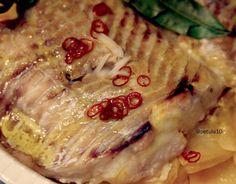 La cuoca petulante: Merluzzo e patate dolci