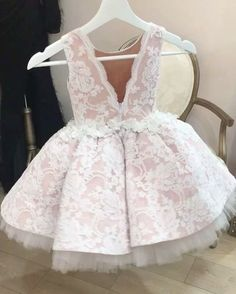 She's Sweet and Delicate Dress available at www. Little Dresses, Little Girl Dresses, Girls Dresses, Flower Girl Dresses, Fashion Kids, Baby Girl Fashion, Dress Anak, Kids Gown, Girl Dress Patterns