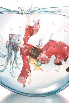 Manga Art, Anime Manga, Anime Art, Vocaloid, Samurai, Mikuo, Cute Chibi, Character Design References, Bottle Art