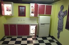 1950s Kitchen Appliances | here we have some 50s and 50s inspired kitchens