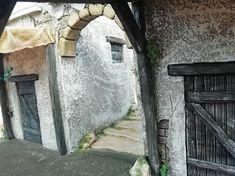 Belen artesanal: Catálogo de construcciones Interior, Christmas Villages, Christmas Crafts, Castles, Projects, Design Interiors, Interiors