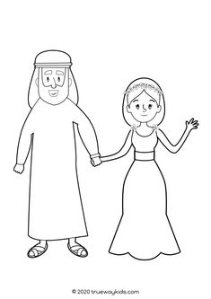 Free printable preschool Bible lesson on Jesus' first Miracle at the wedding in Cana (John Includes story, worksheets, activities, craft, coloring sheets and more. Bible Coloring Pages, Coloring Pages For Kids, Preschool Bible Lessons, Free Printable Coloring Sheets, Bible Games, Water Into Wine, Bible Stories, God Is Good, Sunday School