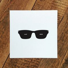 'cool dude' card for dad #FathersDay