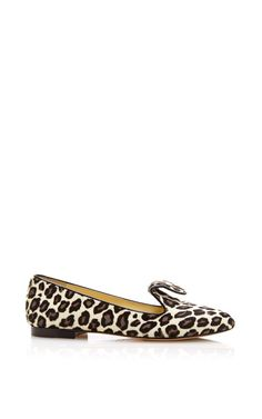 Preorder: Andrea In Leopard Haircalf & Black Suede by Sarah Flint for Preorder on Moda Operandi