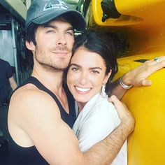 Pin for Later: 33 Snaps That Prove Ian and Nikki Are So in Love  The couple celebrated Earth Day in April with this cuddly snap.