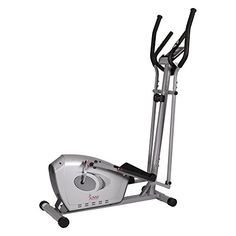 The Sunny Health & Fitness SF-E3607 Standard Elliptical Trainer provides a stunningly smooth flowing workout. 8 levels of magnetic resistance allow users to custom-design a workout that best suits th...